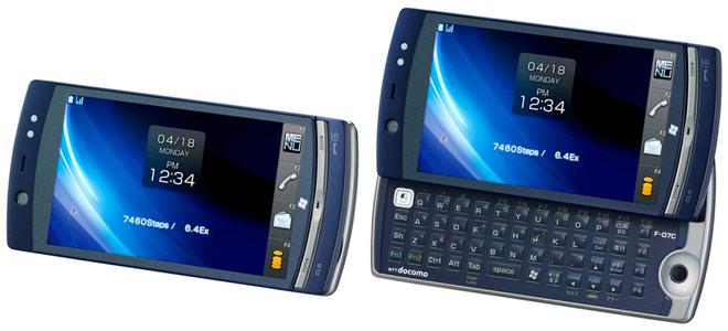 японские телефоны Fujitsu Docomo F-07C Loox