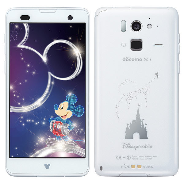 Fujitsu Docomo F-07E Disney Mobile