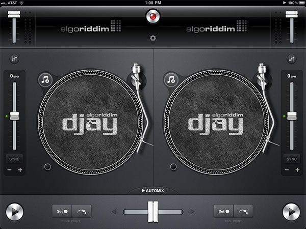 Algoriddim Djay for ipad