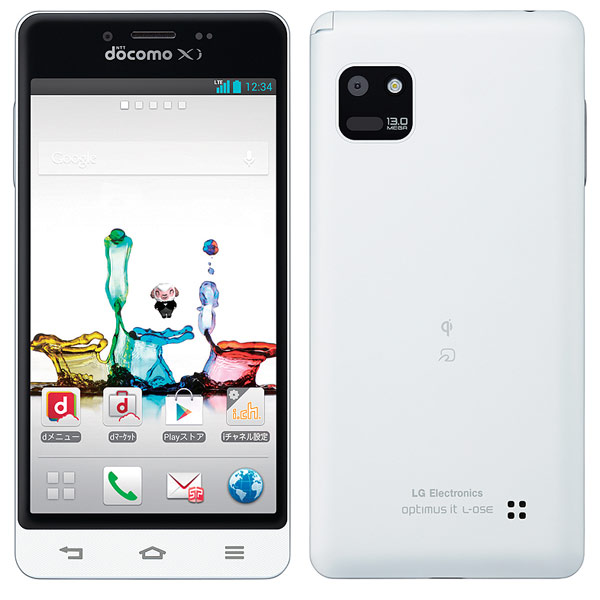 японский смартфон lg docomo l-05e optimus it