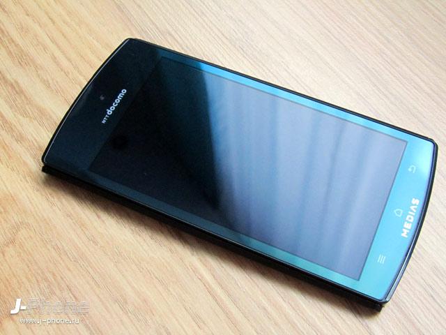 японские смартфоны NEC Casio Docomo N-05D Medias ES