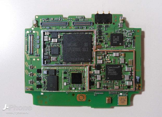 Разбираем японский смартфон NEC Docomo N-06E Medias X