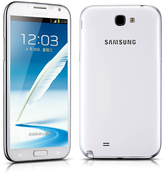 samsung galaxy note II с 2 SIM-картами