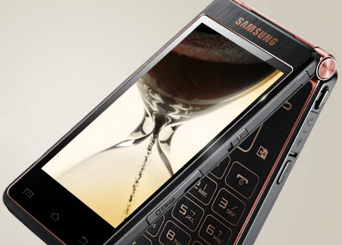 Android смартфон раскладушка Samsung SCH-W2013