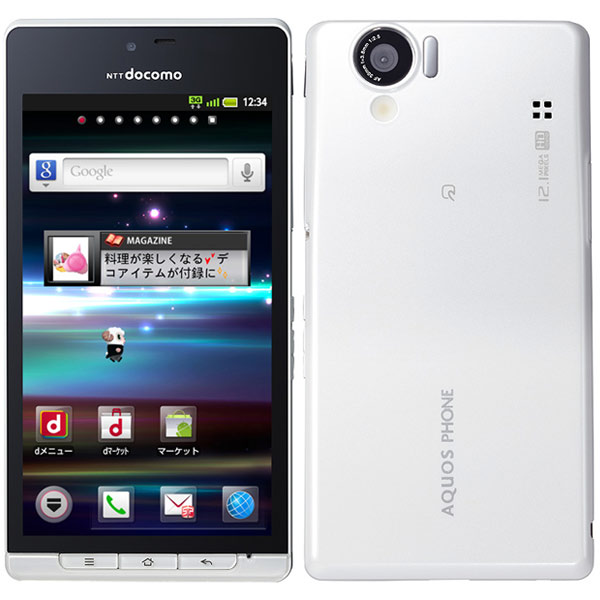 Sharp Aquos Phone SH-01D