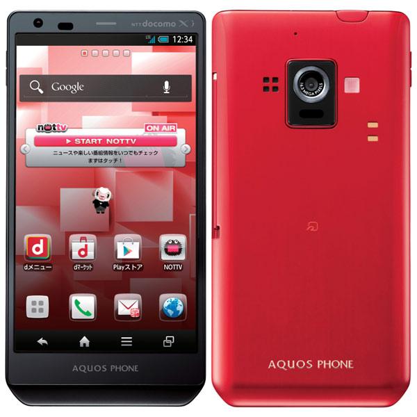 японский смартфон sharp docomo sh-02e aquos phone zeta