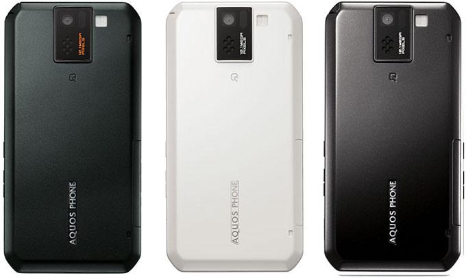 смартфон sharp docomo sh-10d aquos phone sv