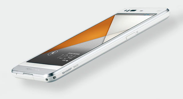 sharp shl23 aquos phone serie