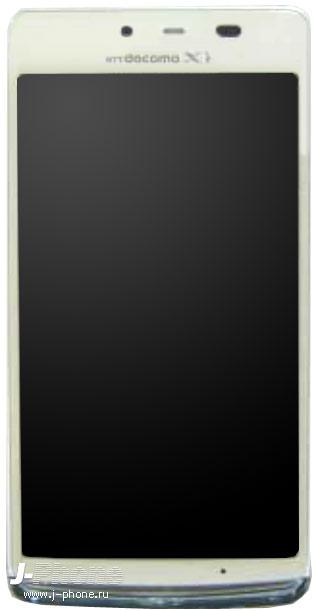 японский смартфон Sharp Docomo SH-04E с беспроводной зарядкой