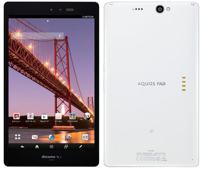 японский IGZO планшет Sharp Aquos Pad Docomo SH-08E
