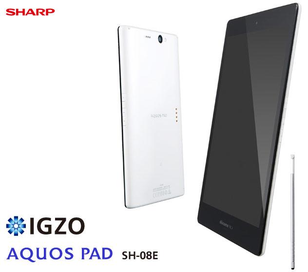 планшет Sharp Aquos Pad Docomo SH-08E