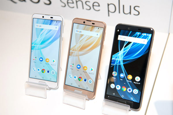 японский IGZO смартфон Sharp AQUOS sense plus
