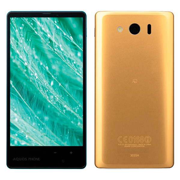 японский IGZO EDGEST смартфон Sharp Softbank 303SH Aquos Phone Xx Mini