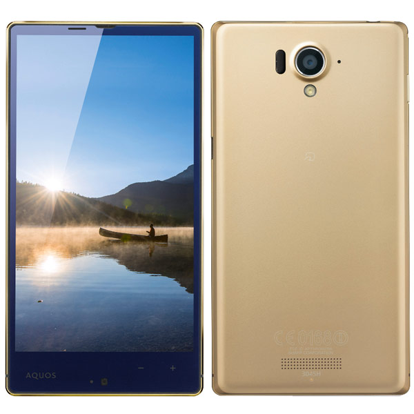 японский IGZO EDGEST смартфон Sharp Softbank 304SH Aquos Xx