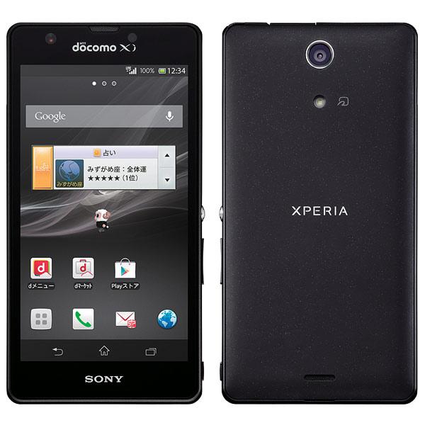 японский смартфон SONY Xperia A Docomo SO-04E