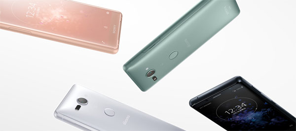 японский cмартфон Sony XPERIA XZ2 Compact SO-05K