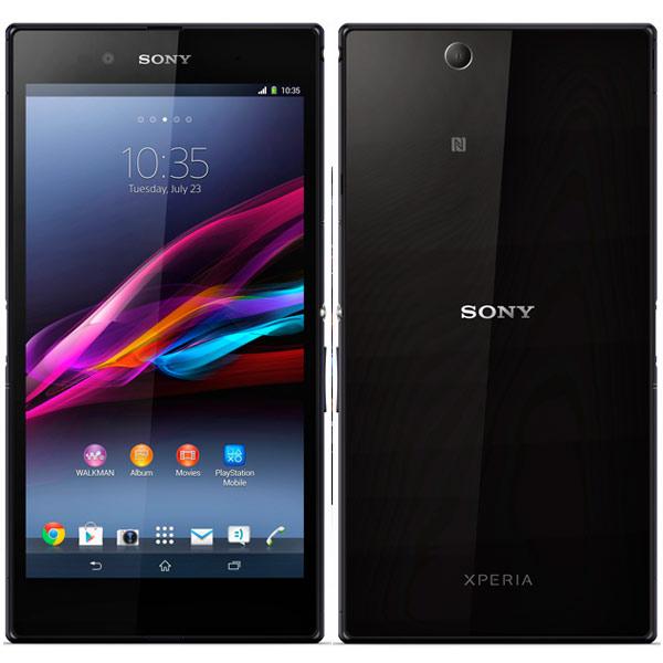 обзор японского смартфона Sony Xperia Z Ultra в черном цвете
