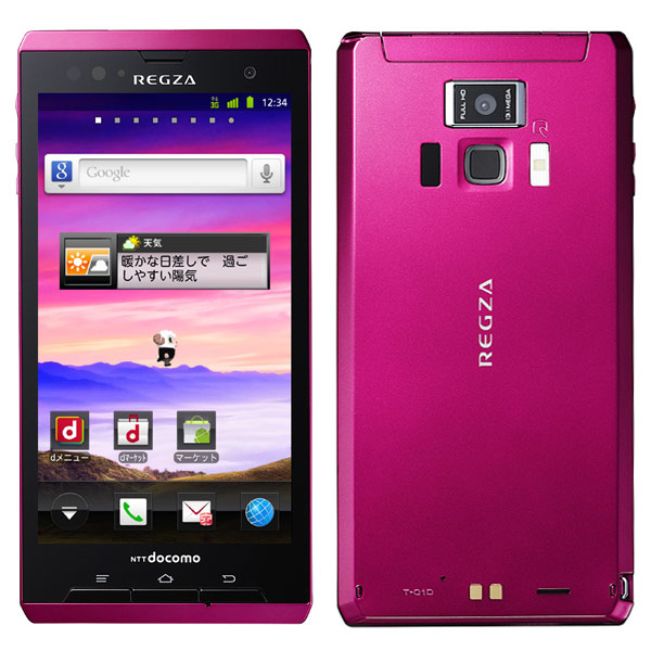 Toshiba Regza Phone T-01D