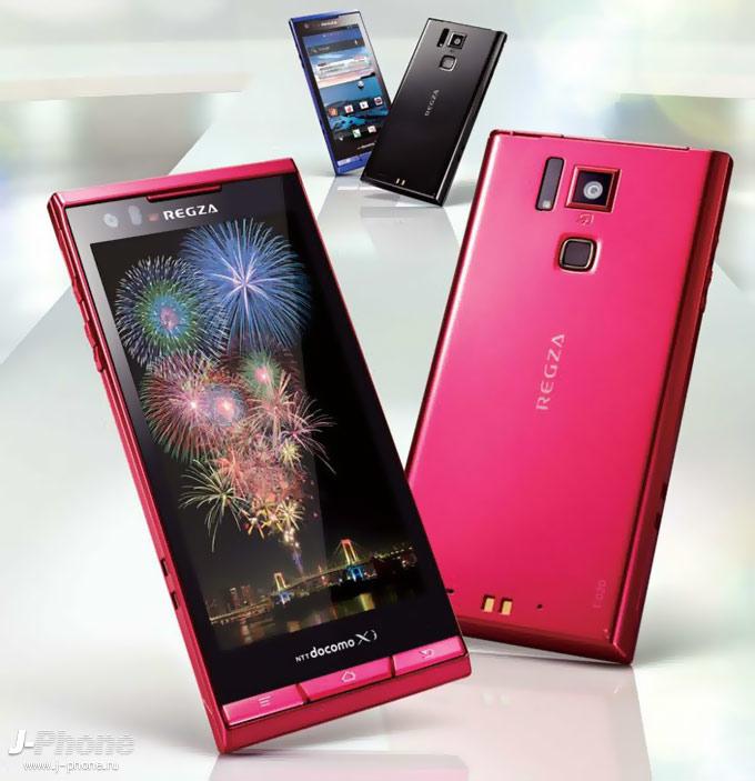 смартфон toshiba docomo t-02d regza phone