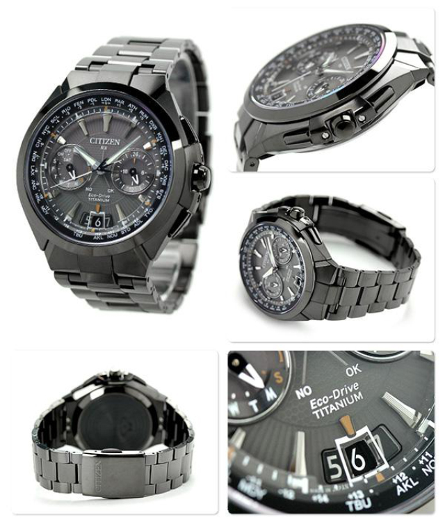 Японские часы Citizen Attesa Satellite Wave CC1080-56E