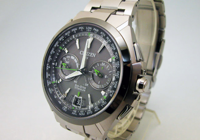 Японские часы Citizen Attesa Satellite Wave CC1086-50E