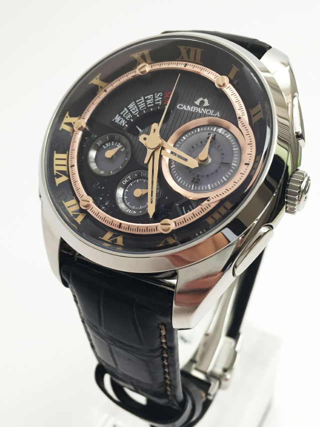 Японские часы Citizen Campanola Eco-Drive Complication BZ0030-16F