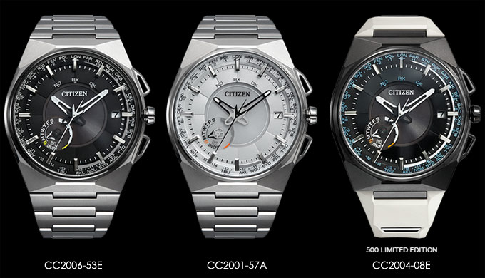 Японские часы Citizen Eco-Drive Satellite Wave F100 CC2001-57A