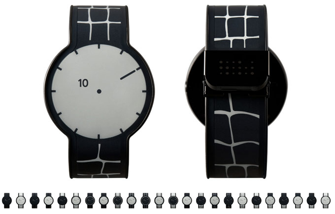 E-Ink часы FES Watch by Sony