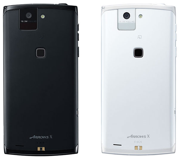 японский смартфон fujitsu docomo f-02e arrows x