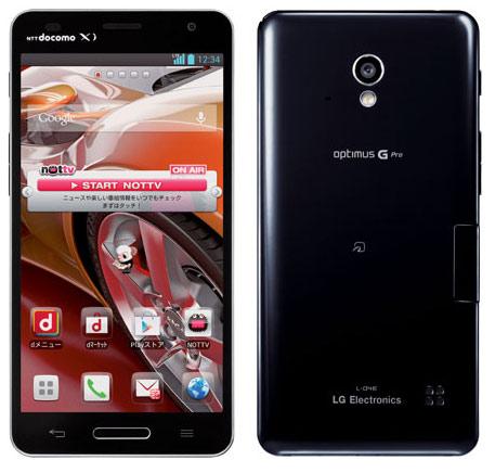 японский смартфон lg docomo l-04e optimus g pro