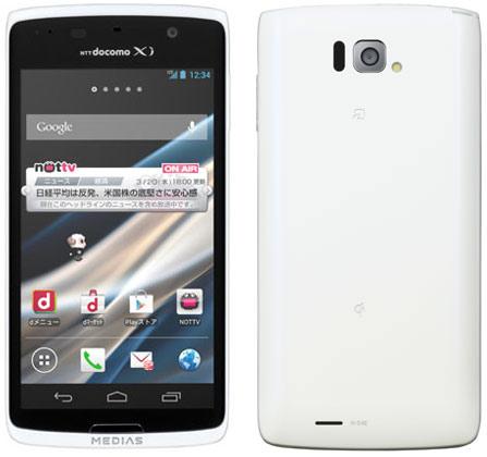 японский смартфон NEC Docomo N-04E Medias X