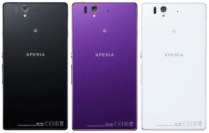 японский смартфон Sony Docomo SO-02E Xperia Z