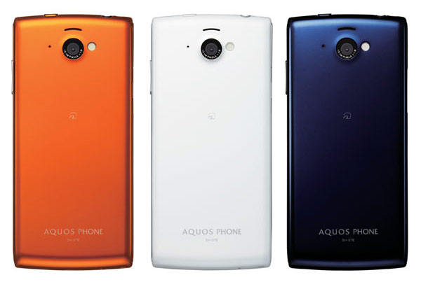 японский смартфон Sharp Docomo SH-07E Aquos Phone si