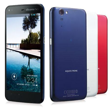 смартфон Sharp Aquos Phone Zeta Docomo SH-01F