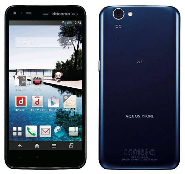 Sharp Docomo SH-01F Aquos Phone Zeta