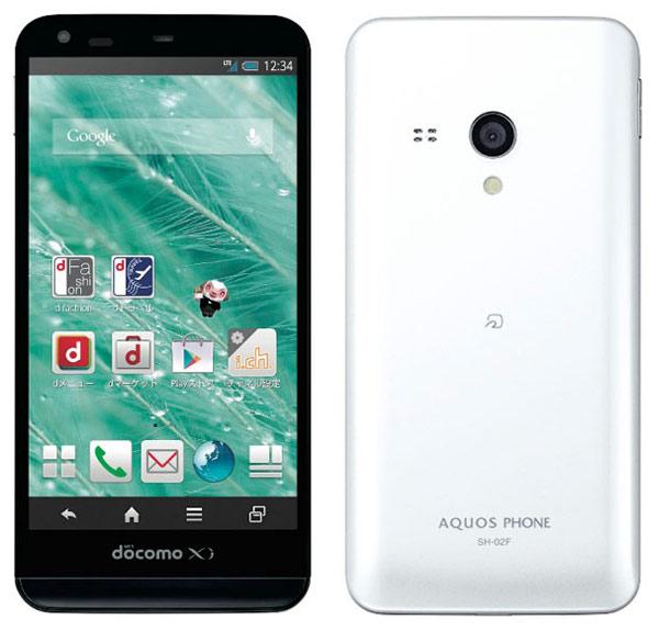 Sharp Docomo SH-02F Aquos Phone Ex в продаже с 24 января