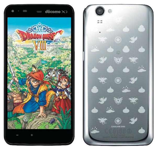 Обзор японского смартфона Sharp Dragon Quest SH-01F