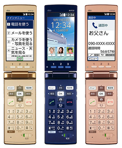 Kyocera Easy Mobile Phone KYF32