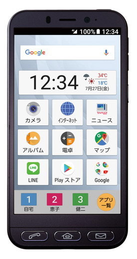 Sharp Easy Smartphone 4 для Softbank