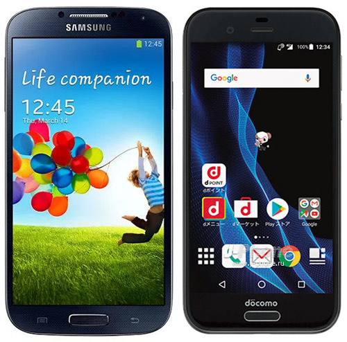 Samsung Galaxy S3 vs. Sharp AQUOS R SH-03J