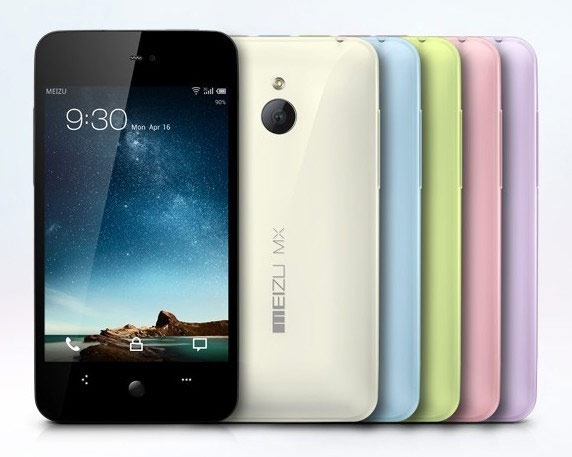 meizu mx quad core 1,5 ghz