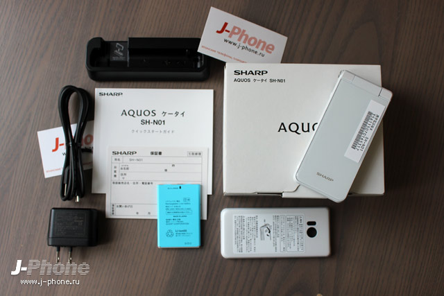 Sharp AQUOS K-tai SH-N01