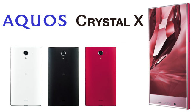 Смартфон Sharp Aquos Crystal X Softbank 402SH сертифицирован FCC