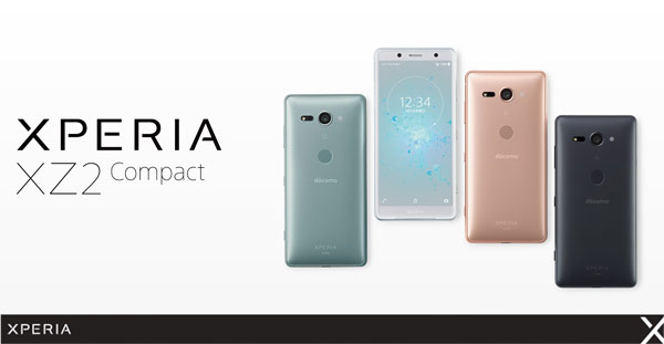 Sony XPERIA XZ2 Compact SO-05K