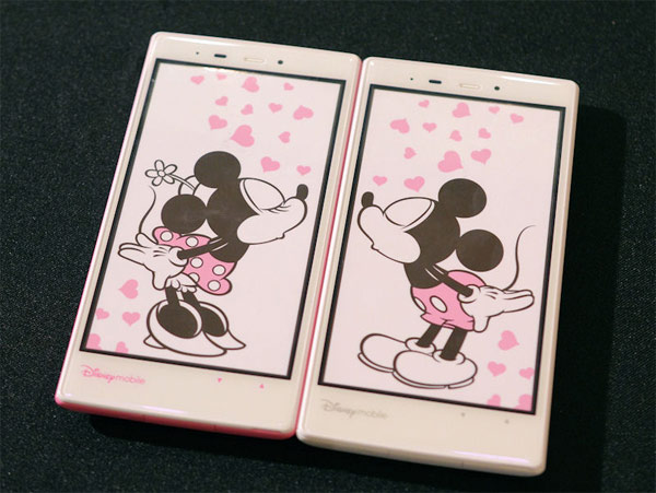sharp softbank dm014sh disney mobile