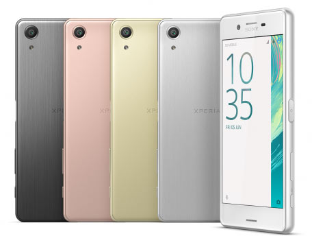 глобальная версия Sony Xperia X Performance