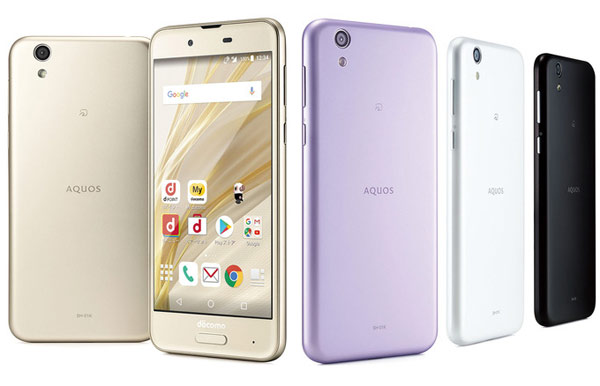 Sharp AQUOS sense SH-01K для NTT Docomo
