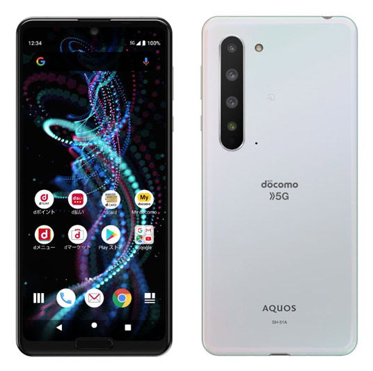 Sharp AQUOS R5G SH-51A