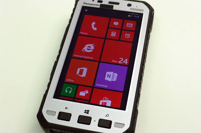 Антивандальный Windows смартфон Panasonic Toughpad FZ-E1 сертифицирован Bluetooth SIG