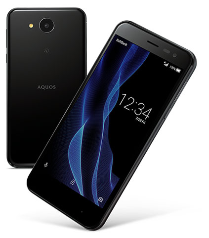 японский Android IGZo смартфон Sharp AQUOS ea